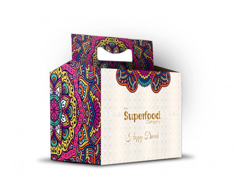 Superfoods Six Pack Diwali Hamper Design