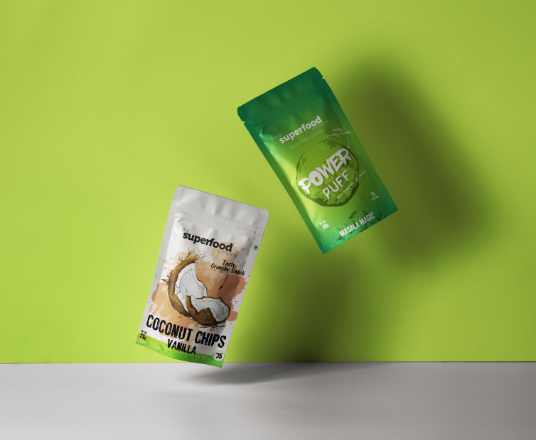 Superfoods Stand-up Pouch Design