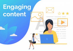 Engaging blog content