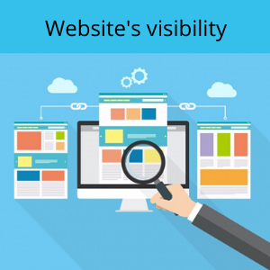 SEO increases website's visibility